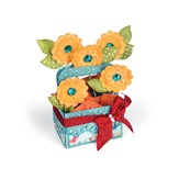 Sizzix Bigs XL - Card in a box, Flower basket