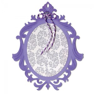Sizzix Thinlits - Frame, Ornate Oval