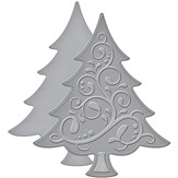 Spellbinders Shapeabilities Die D-Lites - Fancy Tree
