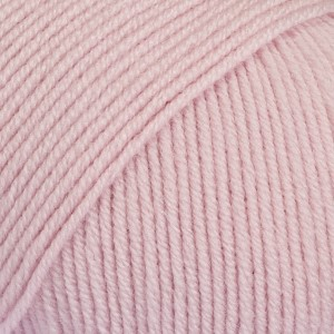Baby Merino Unicolor - 26 lys gammelrosa/ light old pink
