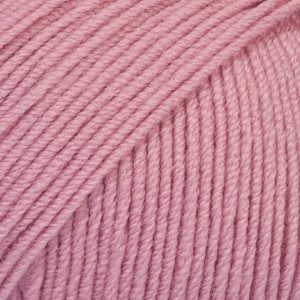 Baby Merino Unicolor - 27 gammelrosa/ old pink
