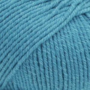 Cotton Merino Unicolor - 24 turkis