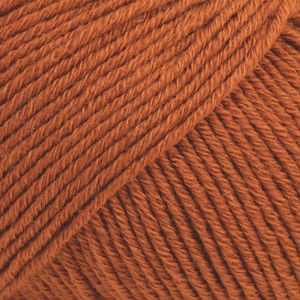 Cotton Merino Unicolor - 25 rust