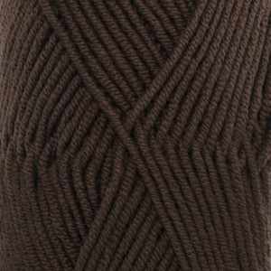 Merino Extra Fine Unicolor - 09 mørk brun/ dark brown