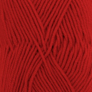 Merino Extra Fine Unicolor - 11 rød/ red