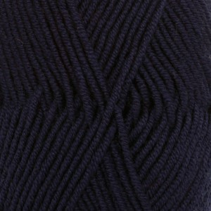 Merino Extra Fine unicolor - 27 marineblå/ navy blue