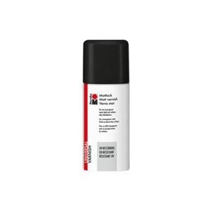 Marabu spraylakk - 150 ml - matt klarlakk