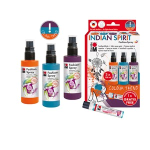 Marabu Fashion Spray Sett - Indian Spirit