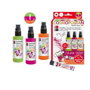 Marabu Fashion Spray set - Cosmopolitan