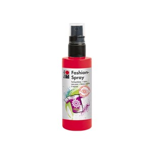 Marabu Fashionspray - 232 Rød - 100 ml