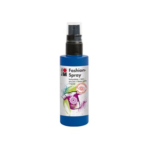 Marabu Fashion Spray - 258 Marineblå - 100 ml