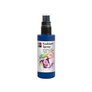 Marabu Fashion Spray - 293 Mørk Blå - 100 ml