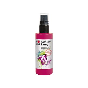 Marabu Fashion Spray 100 ml - 005 Bringebærrød