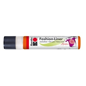Marabu Fashion Liner 25 ml - Rødorange