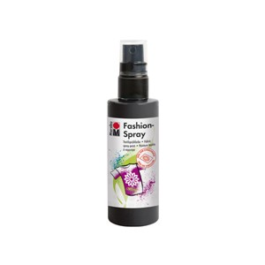 Marabu Fashion Spray 100 ml - 073 Sort