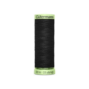 Gütermann Top Stitch - 30 m - 000 sort