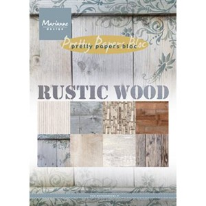 Pretty Papers bloc - Rustic Wood - 14,8 x 21 cm