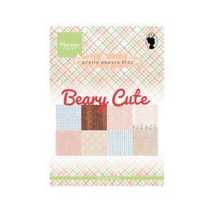 Pretty Papers Bloc - Beary Cute - 14,8 x 21 cm
