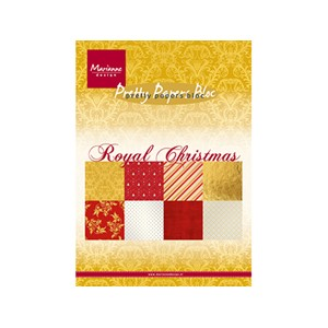 Pretty Papers Bloc - Royal Christmas - 14,8 x 21 cm