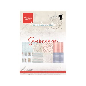 Pretty Papers Bloc - Seabreeze - 14,8 x 21 cm