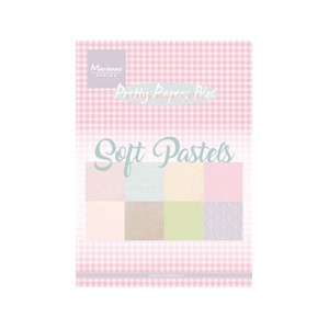 Pretty Papers Bloc - Soft Pastels - 14,8 x 21 cm