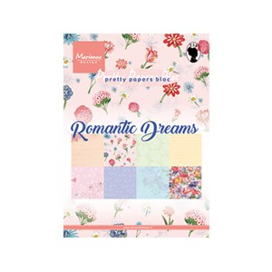 Pretty Papers Bloc - Romantic Dreams - 14,8 x 21 cm