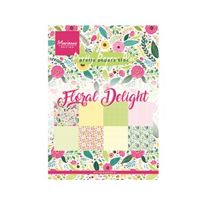 Pretty Papers Bloc - Floral Delight - 14,8 x 21 cm