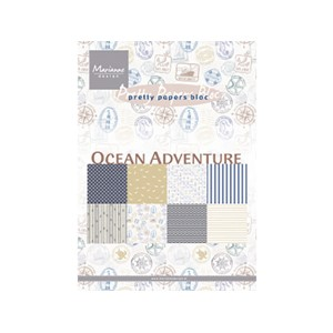 Pretty Papers Bloc - Ocean Adventure - 14,8 x 21 cm
