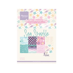 Pretty Papers Bloc - Sea Sparkle - 14,8 x 21 cm