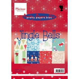 Pretty Papers bloc - Jingle Bells - 14,8 x 21 cm