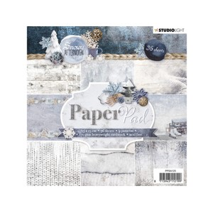 StudioLight Paper Pad - 15x15 - Snowy Afternoon 125