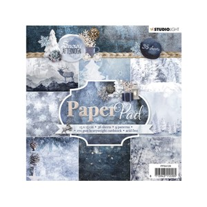 StudioLight Paper Pad - 15x15 - Snowy Afternoon 126