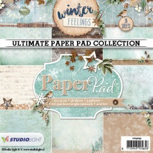 Ultimate Paper Pad Collection - Winterfeelings - 15x15