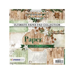 Ultimate Paper Pad Collection - Woodland Winter 91 - 15x15