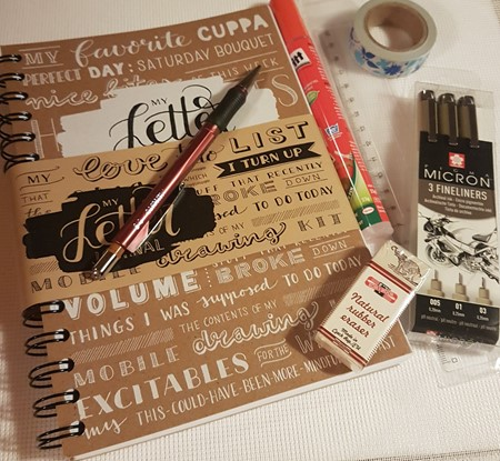 Bullet Journal Startpakke