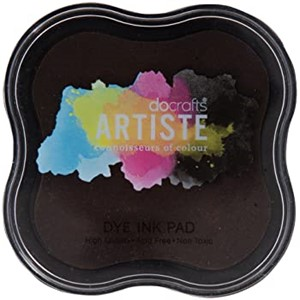 Artiste Pigment Ink Pad - Chocolate