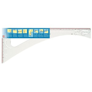 Prym Dressmaker's ruler - transparent