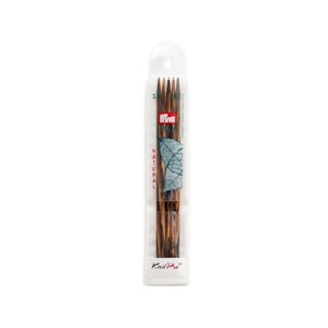KnitPro settpinne - natural - 3,5 mm/ 15 cm